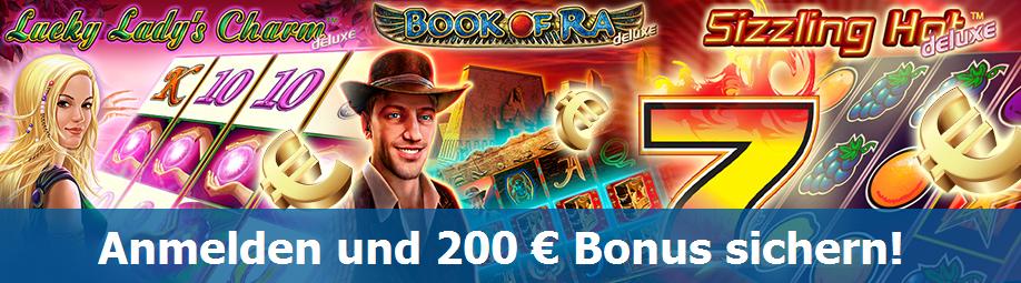 Willkommens Bonus, Novoline Casino