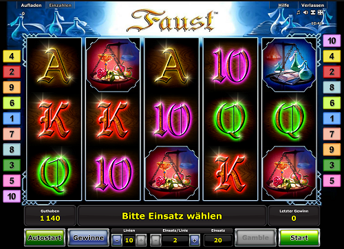 Novoline Faust Slot