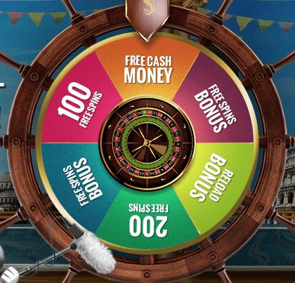 Casino Cruise Glücksrad
