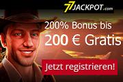 77 Jackpot Novoline Slots Casino Willkommens Bonus