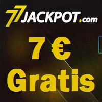 77Jackpot-Bonus 7 € Gratis