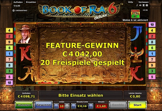 casino game online book of ra gewinn