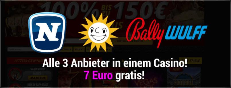 Bally Wulff, Novoline, Merkur