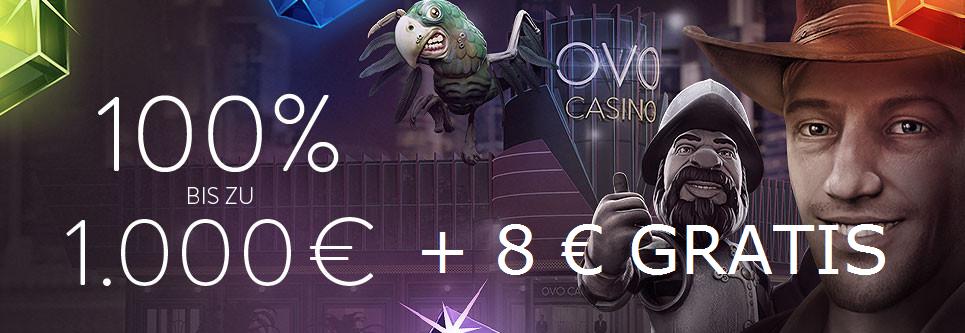 OVO Casino Netent Bonus Angebot